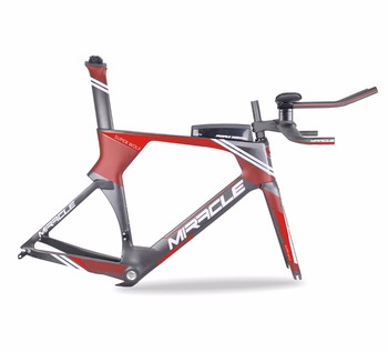 New design Full Carbon TT Bike Frame,T700 Full Carbon Time trial Bicycle Frame,warranty 2 year Triathlon Carbon Bike Frame