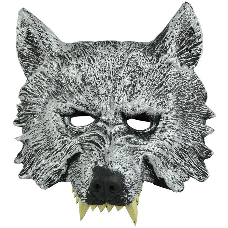 Wolf mask Moving the props Holiday articles Halloween Cosplay face mask