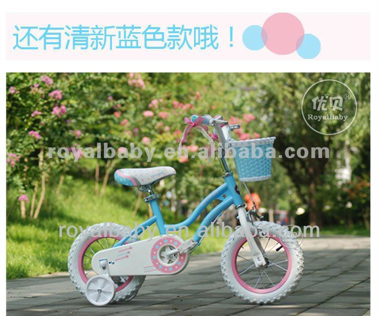 Royalbaby Stargirl specialized blue kids bicicleta with training wheels