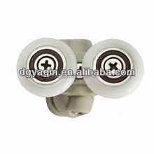 688 doppelglas duschtr rollen kunststoff dusche doppelrollen mit direktem neupreis - Duschtur Rollen