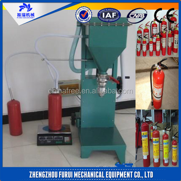 CO2 dry powder fire extinguisher servicing equipment/fire extinguisher refill machine