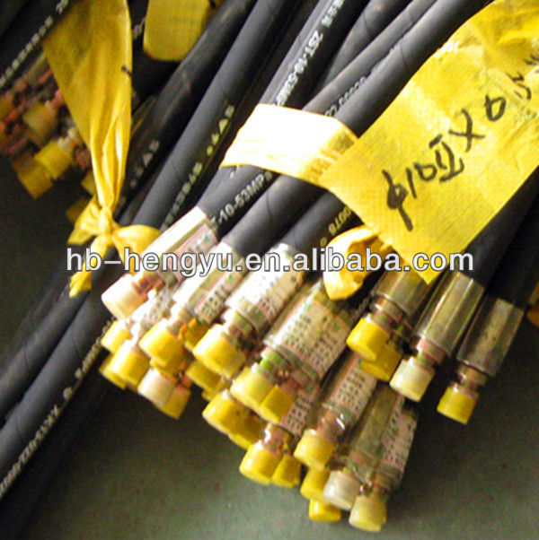 General Engineering Braid Hydraulic Machinery Rubber Steel Reinforced Hose 2SN/SAE 100R2AT