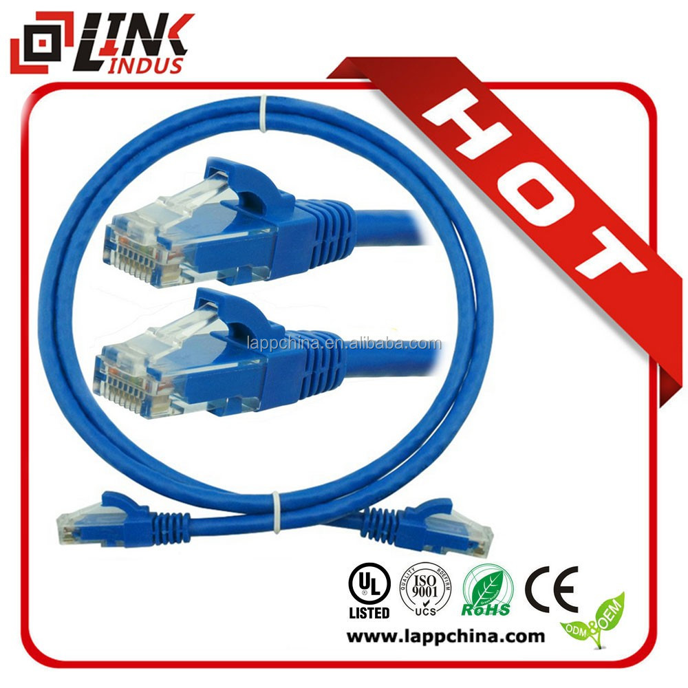 Cat.6 lan patch cord rg45 plug ftp patch cable