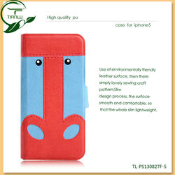 hot selling luxury pu leather case for iphone 4 in alibaba