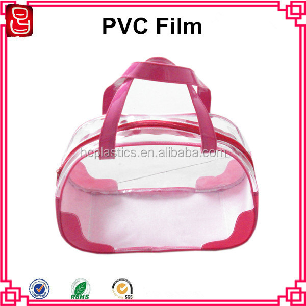Normal clear soft pvc sheet plastic film for bag