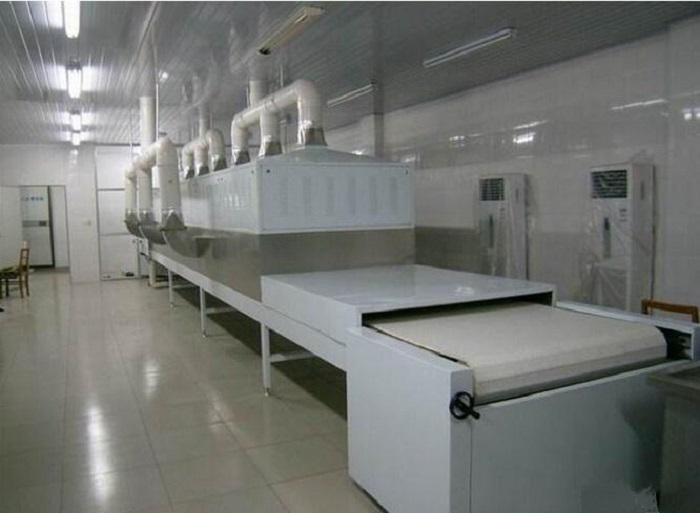 non heat exchange microwave tunnel type special heating drying oven