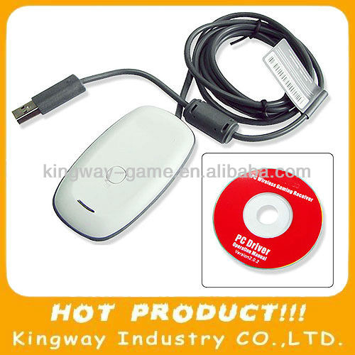 Gaming receiver for XBOX360 accessory