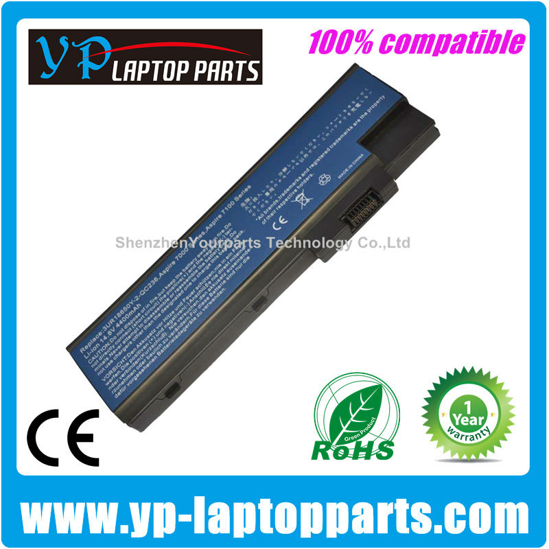 For Acer Aspire 7000 battery replacement battery 5100 5600 5620 5670 9400 9510 9520 BTP-BCA1 BT.00803.014 MS2196 Series
