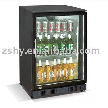 98L Black Mini Bar Fridge with CE & Rohs Certificate