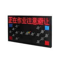 1400*700m Road safety traffic led sign aluminum arrow signal board