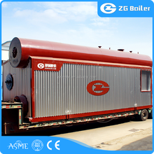 Central-heating boiler steam boiler half tone