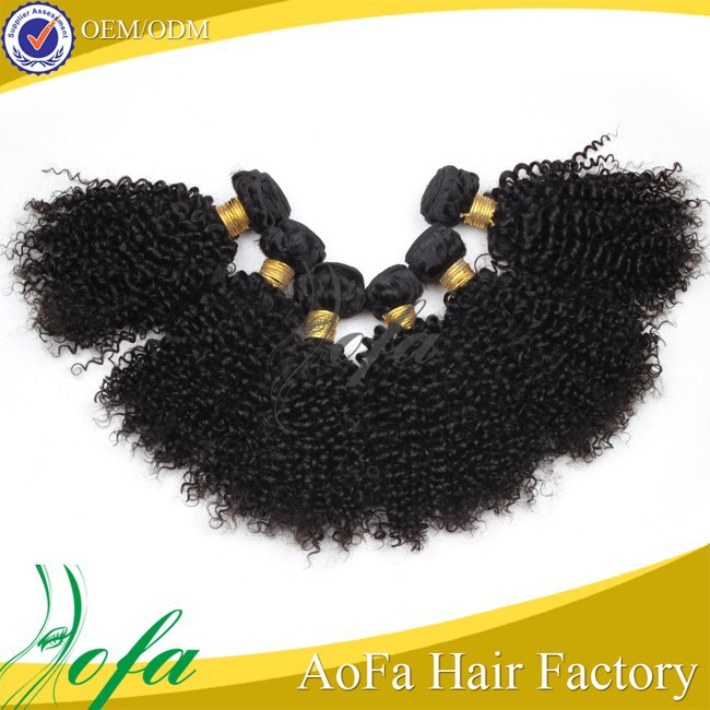 human hair curly hairpieces fiber curly hair brazilian kinky curly hair
