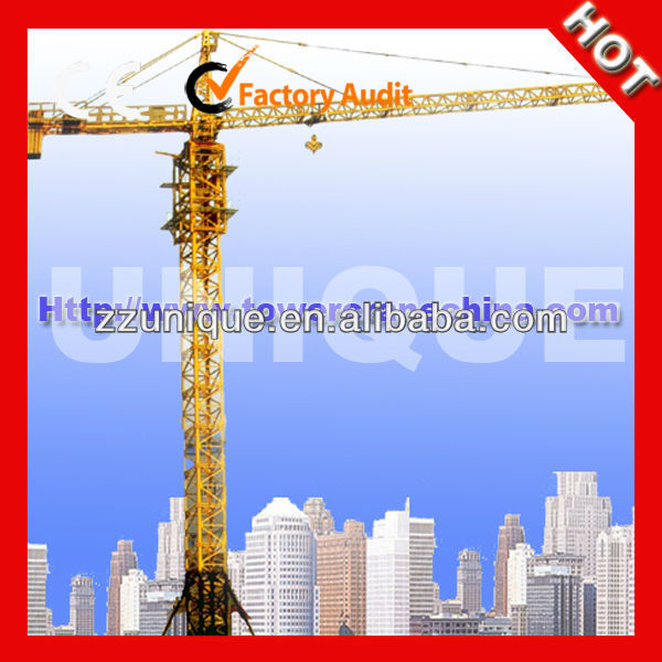 Used Widely QTZ80A scm Tower Crane