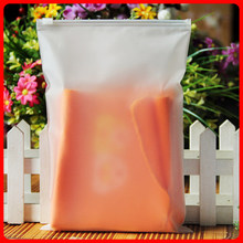 17 * 25 * 20 frosted zipper clothing packaging plastic bags 10 only leggings inside pocket