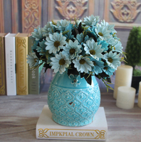 FL-BP28 GNW Artificial Plastic Daisy Flowers Wholesale for room decoration