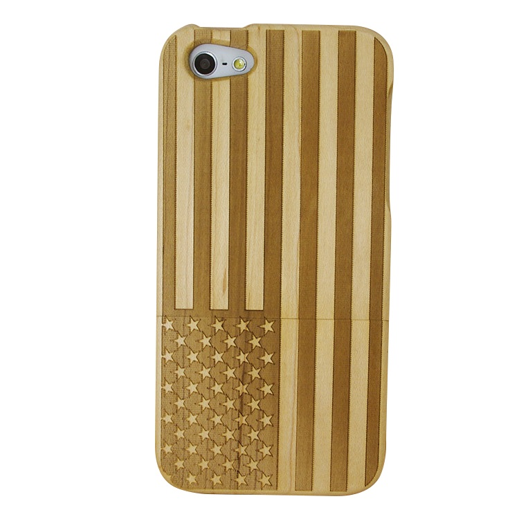 hot sell usa flag diy mobile cell phone case cover custom wood cell phone case for iphone 7