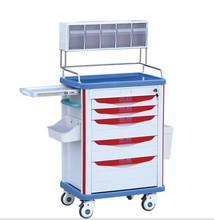 Dressing trolley anesthesia trolley/cart for sale