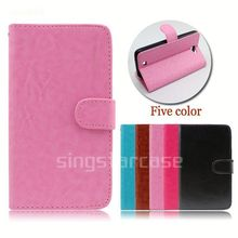 wholesale cell phone cover wallet with card slots stand flip case for Cubot P9
