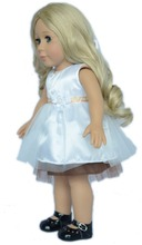 "custom made princess girl doll/craft 18"" american girl doll/doll pattern with movable eyes"