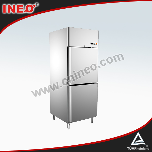 2 Doors Vertical Stainless Steel Commercial Refrigerator Manufacturers/Refrigerator With Price/Tall Refrigerators