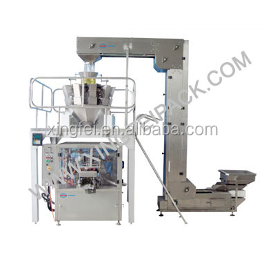 Automatic dry fruit chips/roasted nuts/ rose tea packing machine