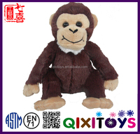 Promotional itmes animal types of stuffed products plush gorilla toys