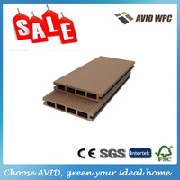 High quality and Beautiful design synthetic lumber/wood composite decking for sale