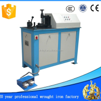 Ornamental Wrought Iron Coil Rollling Machine