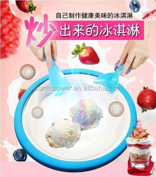 style fried ice roll making machine / ice whipping machine / fried ice cream maker