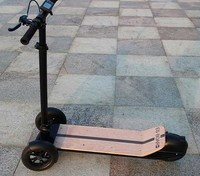 OEM Yes foldable brushless motor kick scooter 3 wheel electric skate board for adults