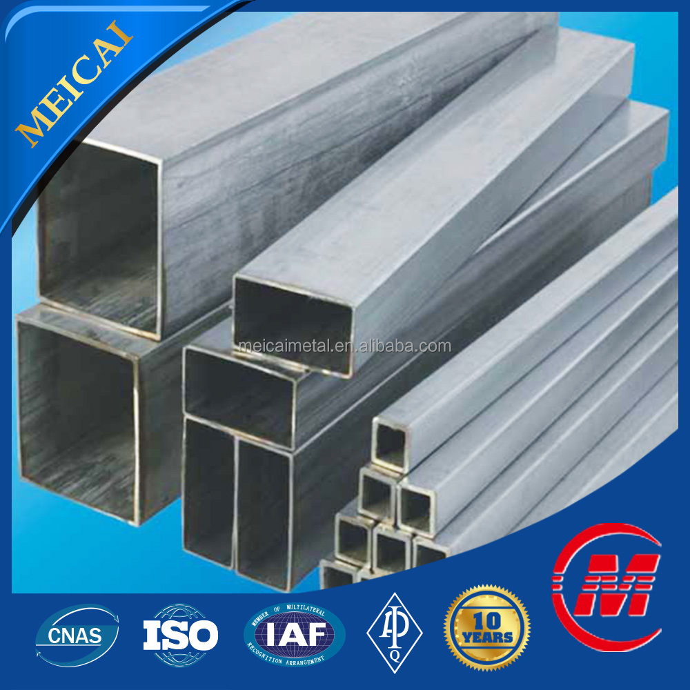 Made in china prime standard steel galvanized square steel pipe conduit