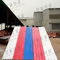 New style Best-Selling heat insulation bent concrete roof tiles