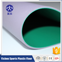 Hot Sales Top Quality PVC Sport Floor Made In China 6mm Thickness Litchi Pattern For Badminton Court
