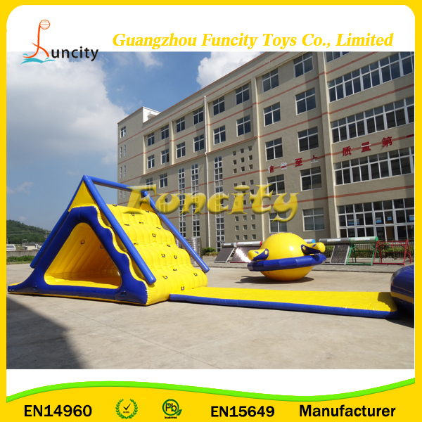 Commercial giant inflatable aqua park games,seashore funny water toys inflatable water obstacle for adults