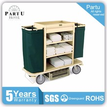 Partu Lighter Steel Hotel Housekeeping Cart