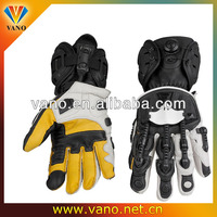 Super quality full finger genuine goat leather motorcycle racing glove sport gloves
