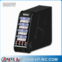 The least H800 Quad battery charger better than Hitec X4 AC+ 4 Channel AC/DC Charger HRC44167