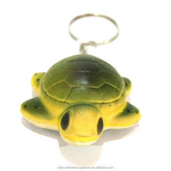 Customize Polyurethane foam OEM 3d rubber PU toy tennis ball costom made stress ball keychain