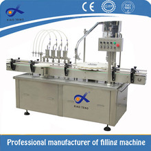 CE/ISO certification round bottle automatic hot sauce filling machine for cap sealing
