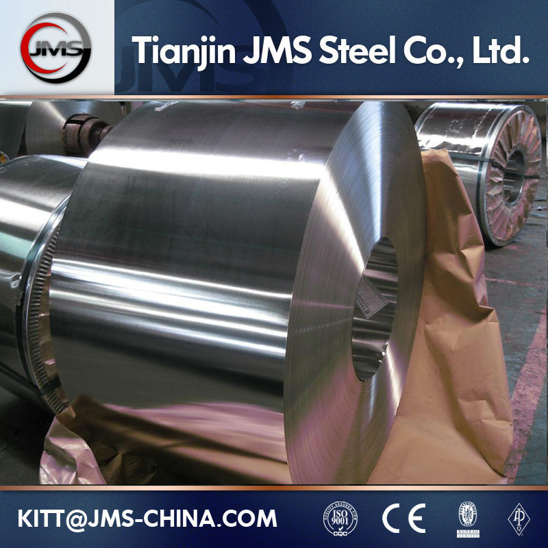 DR8 tinplate with MR/SPCC Raw Material tin plate