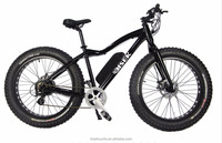 electric fat bike 26 inch fat tire electric bike with 500W 1000W powerful motor