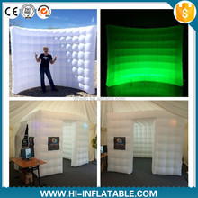 new style service equipment inflatable photo booth wall