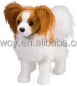 custom printed logo Direct Manufacturer plush dog stuffed dog extra soft hippo animal toys