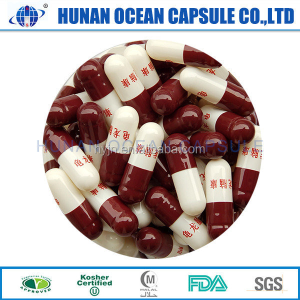 Transparent And Color Hpmc Vegetable Edible Empty Hard Gelatin Capsules