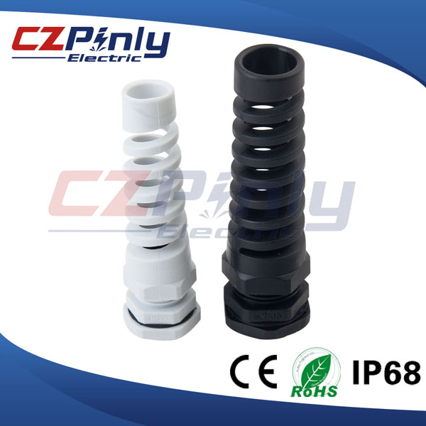 Waterproof IP68 Bend Proof Cable Gland with Strain Relief