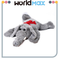 New Products And Adorable Lying Elephant Soft Baby Toys