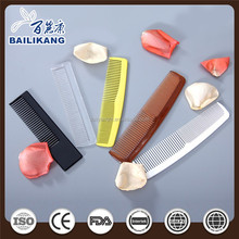 multicolor printing plastic convenient hair comb