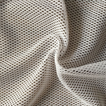 100% polyester stiff mesh fabric for shoes activewear
