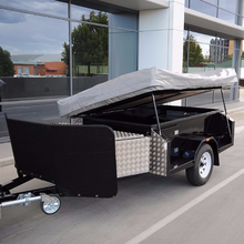 Caravan offroad camper trailer sale with stainless steel kitchen