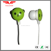 Funny Animal shape earbud for promotion FS-229